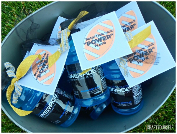 powerade bucket