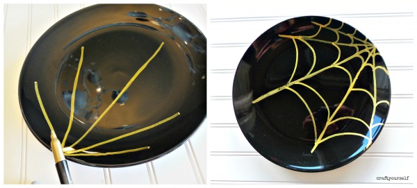diy-spider-web-plate
