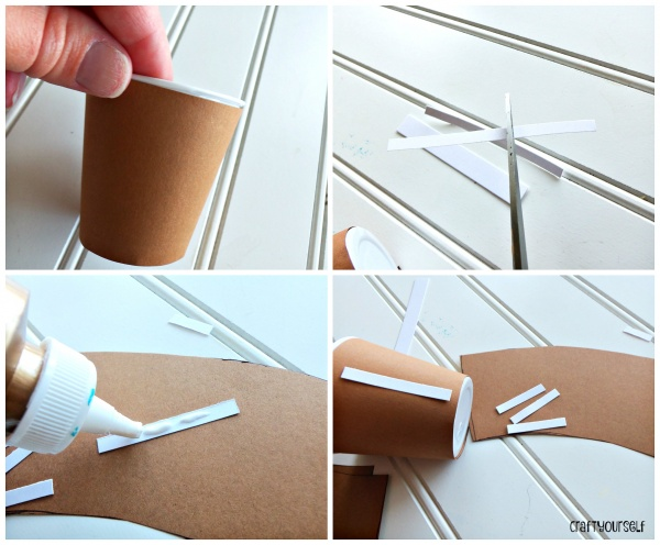 football cup gluing