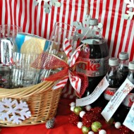 Coca-Cola Float holiday gift basket & Coat Drive