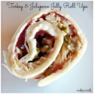 Turkey & Jalapeno Jelly Roll Ups