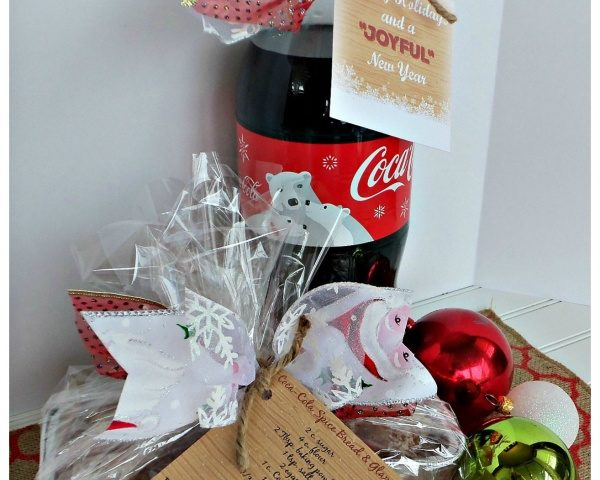 Coca-Cola Holiday Spiced Bread with Glaze