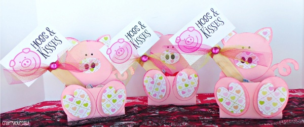 hogs and kisses valentine boxes