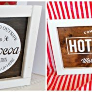 Hot Cocoa Signs