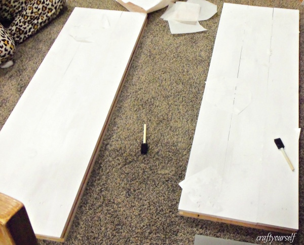 snowman boards white