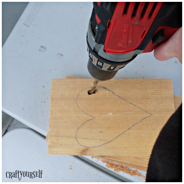 heart cut out drill