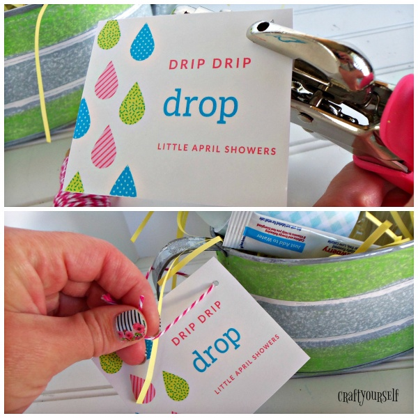 watering can attach tag