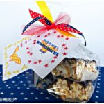 wonder woman treat bag