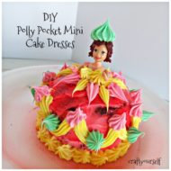 DIY Polly Pocket Mini Cake Dresses