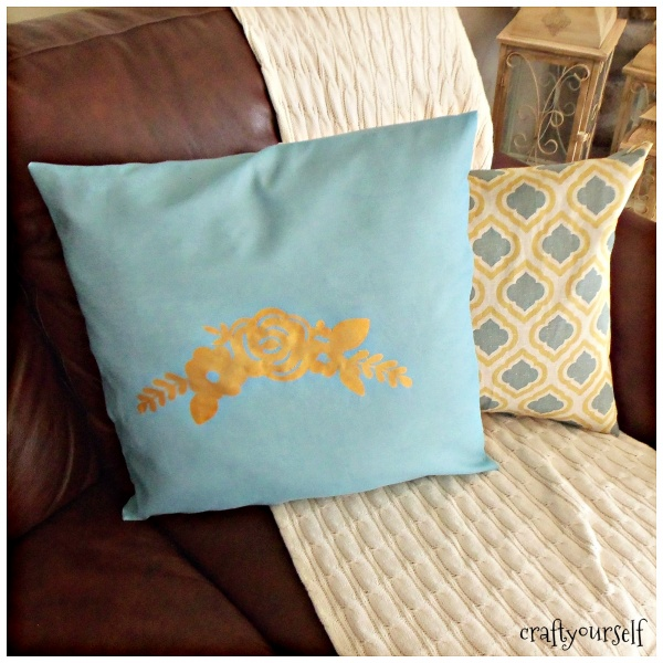 pillow refresh on the couch