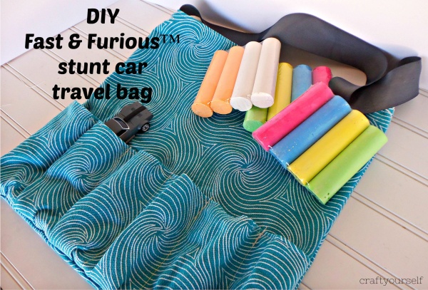 Diy fast & Furious stunt car travel bag