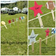 How to Make Fun Nerf Gun Targets for Shooting!