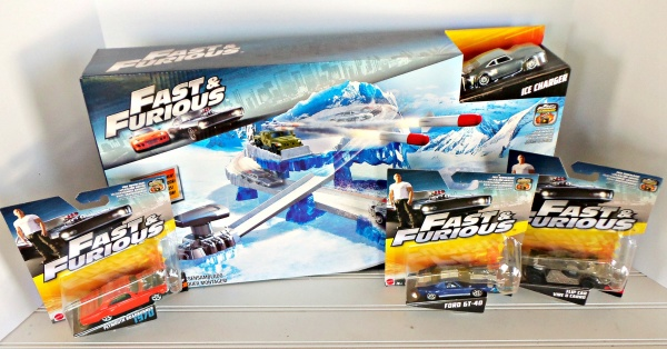 fast & furious play set