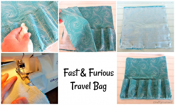 fast & furious sewing bag