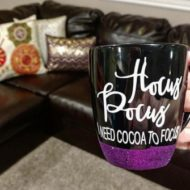 Hocus Pocus I need Hot Cocoa to Focus Mug