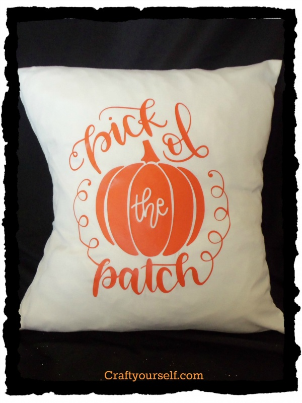 Pick of the Patch pillow