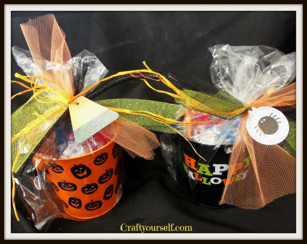 Tin can candy gifts
