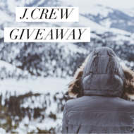 December Holiday J.Crew $150 Gift Card Giveaway