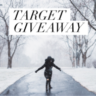 Win by entering our Target Instagram Giveaway