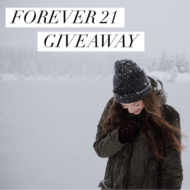 Winter Fun Clothing Forever 21 Gift Card Giveaway!!