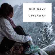 Old Navy Gift Card Giveaway!