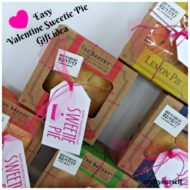 Easy Valentine Sweetie Pie Gift idea