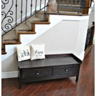 Storage style Alexia Bench with drawers