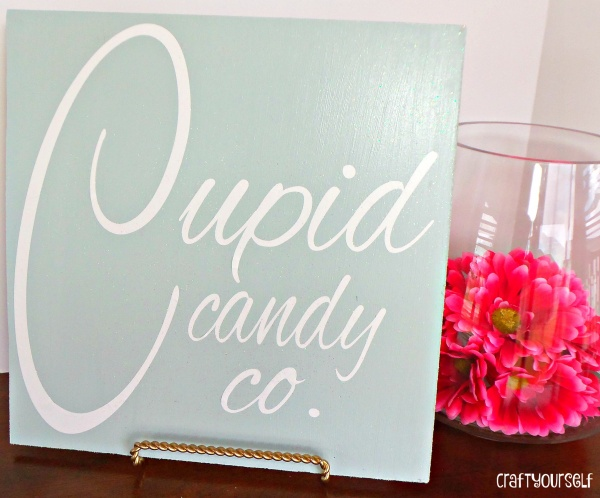 cupid candy sign