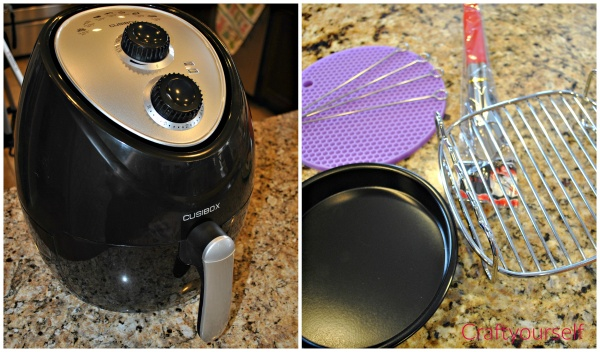 Air fryer and accessories