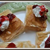 Air Fryer Raspberry Cream Cheese filled Pastries