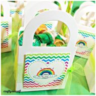 Quick and Easy Last Minute St. Patrick's Day Treat Boxes