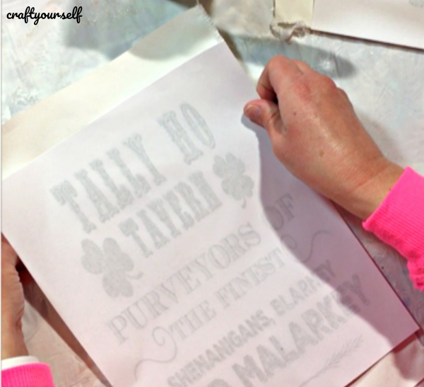 tally ho appy printable