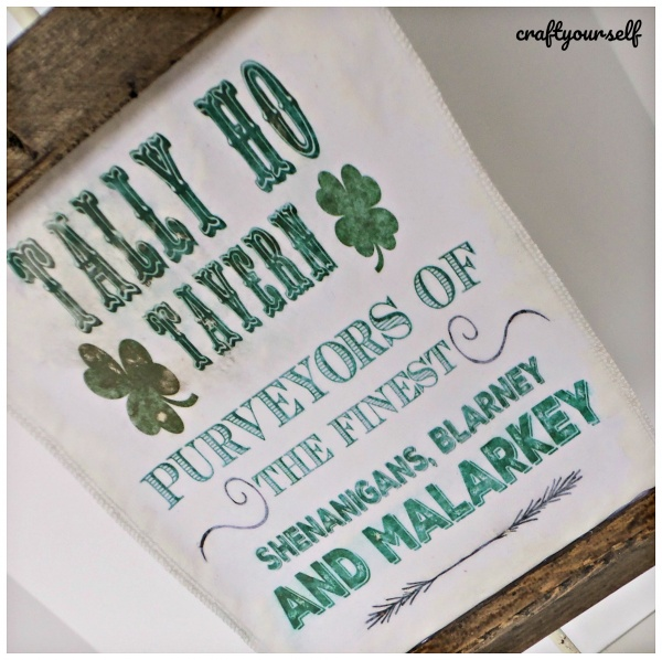 tally ho sign