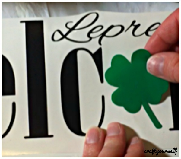 welcome lep shamrock