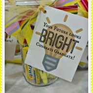 """Your future looks bright"" Simple Graduation gift idea"