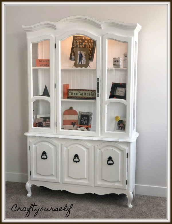 Finished Hutch with decor