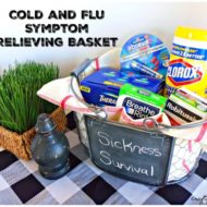 Cold and Flu Symptom Relieving Basket