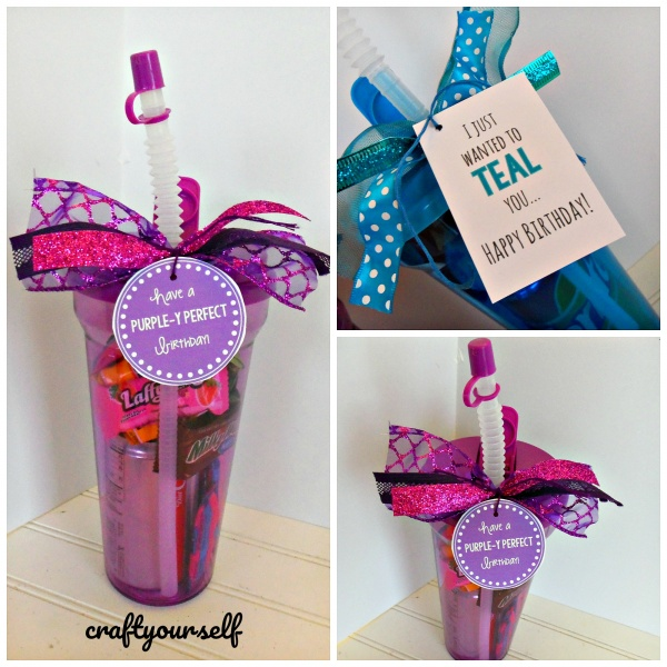 Quick And Easy Birthday Treat Cup Idea