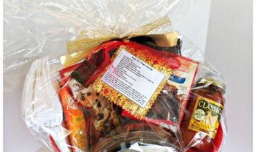 Recipe For a Happy Marriage Shower Gift Basket Idea