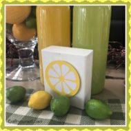 Simple Lemon Slice Summer wood block tutorial
