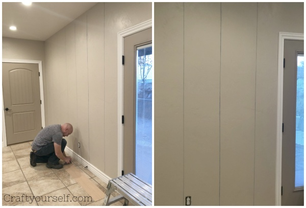 3 Chalk lines for shiplap