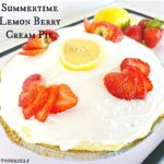Summertime Lemon Berry Cream Pie