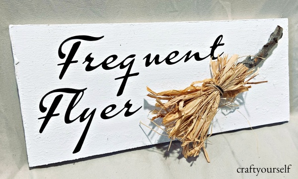 frequent flyer sign