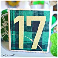 St. Patrick's 17 plaid block